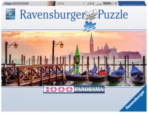 puzzle Ravensburger 1000 dílků  panorama - Banátské gondoly  150823
