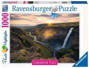 Puzzle Ravensburger 1000 dílků - Skandinávská příroda 167388
