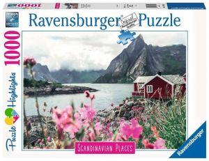 Puzzle Ravensburger 1000 dílků - Skandinávský dům 167401