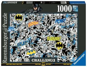 Puzzle Ravensburger 1000 dílků - Výzva - Batman 165131