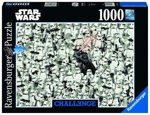 Puzzle Ravensburger 1000 dílků - Výzva - Star Wars 149896