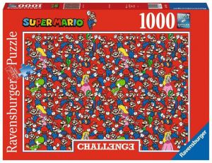 Puzzle Ravensburger 1000 dílků - Výzva - Super Mario  Bros 165254
