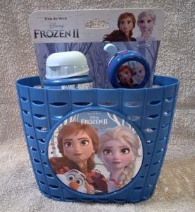 STAMP - sada doplňků ( košík, zvonek, láhev )  Frozen II