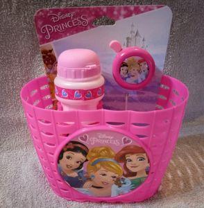 STAMP - sada doplňků ( košík, zvonek, láhev )  Princezny
