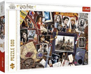 TREFL Puzzle  500 dílků -  Harry Potter - koláž  37400