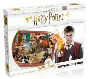 Winning Moves - puzzle 1000 dílků - Harry Potter - Bradavice 39581