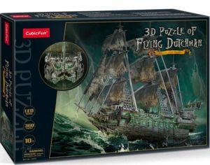 3 D PuzzlePuzzle  CubicFun -  LED -  Bludný Holanďan  360 dílků