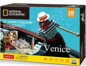 3D puzzle CubicFun Benátky   - 107  dílků