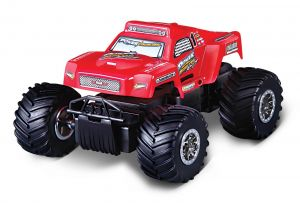 Auto Maisto - Power Builds - Short Course Truck  - červené  auto