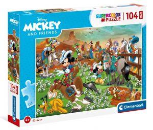Clementoni puzzle 104 dílků Mickey  23759