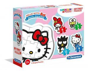 Clementoni Puzzle pro nejmenší - My first  4v1  - Hello Kitty 20818