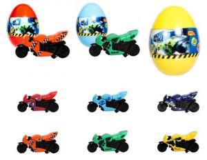 EPEE - Moto Race - Crash na Max - 6 cm motorka ve vajíčku Epee a EP Line