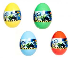 EPEE - Moto Race -  Crash na Max -   6 cm motorka  ve vajíčku