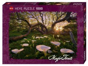 Heye - puzzle 1000 dílků - Magický les ,kaly 29906