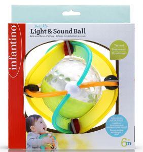 Infantino - míček se světelnými a zvukovými efekty