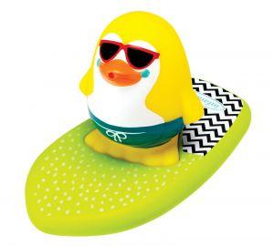 Infantino - stříkací a plavací tučňák na surfu