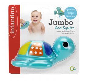 Infantino - stříkací a plavací želvička do vany