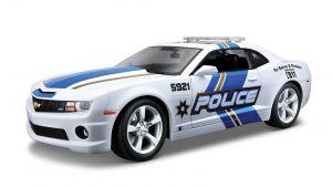 Maisto 1:18 Chevrolet Camaro SS 2010   -  policejní - bílá  barva