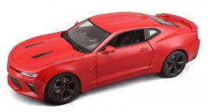 Maisto 1:18  Chevrolet Camaro SS  2016  - červená  barva