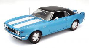 Maisto 1:18 Chevrolet Camaro  Z/28 Coupe 1968 - modrá  barva