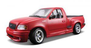 Maisto 1:21 Ford SVT F-150 Lighting   - červená  barva