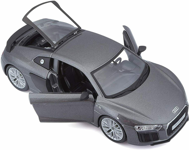 Maisto 1:24 Audi R8 - šedá barva