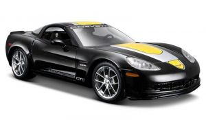 Maisto  1:24 Chevrolet Corvette  GT1  2009  Z06  - černá   barva