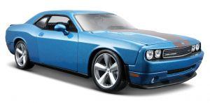 Maisto 1:24 Dodge Challenger SRT8 2008 - modrá barva