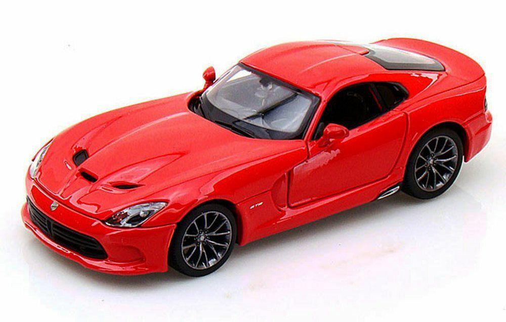 Maisto 1:24 Dodge Viper GTS 2013 - červená barva