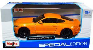 Maisto 1:24 Ford Mustang GT 2015 - oranžová barva
