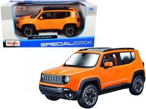 Maisto 1:24 Jeep Renegate - oranžová barva