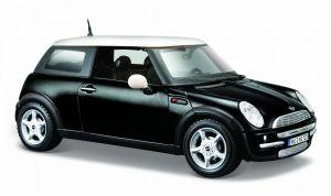 Maisto  1:24 Mini Cooper  - černá   barva