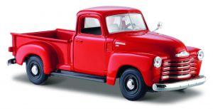 Maisto  1:25 1950 Chevrolet 3100 Pickup - červená barva