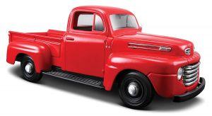 Maisto  1:25  Ford  F1 PickUp 1948 - červená  barva