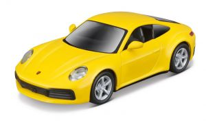 Maisto 21001 PR  Porsche 911 (992) Carrera 4S - žlutá  barva