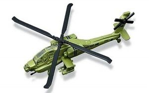 Maisto kovové letadlo -  AH-64 Apache