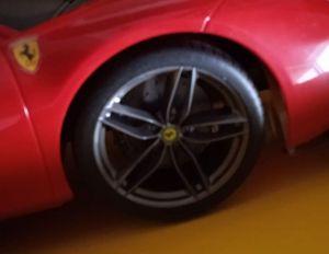 Maisto - RC auto 56 cm - Ferrari 488 GTB - červené