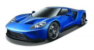 Maisto - RC auto 56 cm - Ford  GT - modré