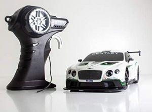 Maisto - RC Bentley Gontinental GT3 1:24 - bílé ( se stř.nádechem ) , 27 MHz