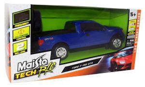 Maisto - RC Ford F-150 STX 2012 1:24 - modré , 27 MHz