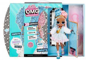MGA LOL SURPRISE Panenka O.M.G. 4 série -  Sweets