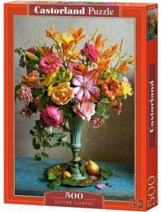 Puzzle Castorland 500 dílků - Podzimní  květiny - kytice   53537