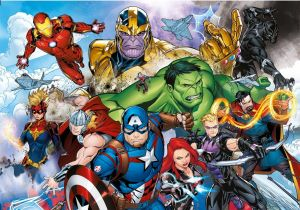 Puzzle Clementoni - 104 dílků Avengers 25718