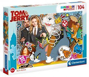 Puzzle Clementoni  - 104 dílků  -  Tom & Jerry   27515