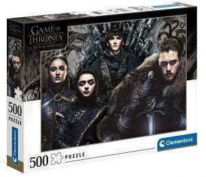 Puzzle Clementoni 500 dílků  - Hra o trůny  35091