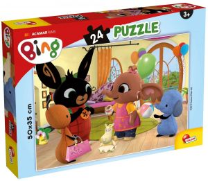 Puzzle Lisciani - 24 dílků  MAXI - Bing 77960