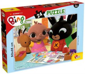 Puzzle Lisciani - 24 dílků  MAXI - Bing 77984