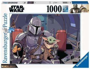 Puzzle Ravensburger 1000 dílků - Star Wars  - Mandalorian  165650
