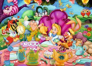 Puzzle Ravensburger 1000 dílků - Walt Disney - kolekce 2 167371