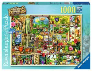 Puzzle Ravensburger 1000 dílků - Zahradní knihovna  194827
